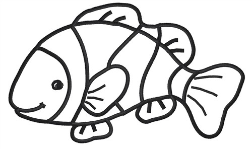 free printable clown fish coloring pages cooloring com