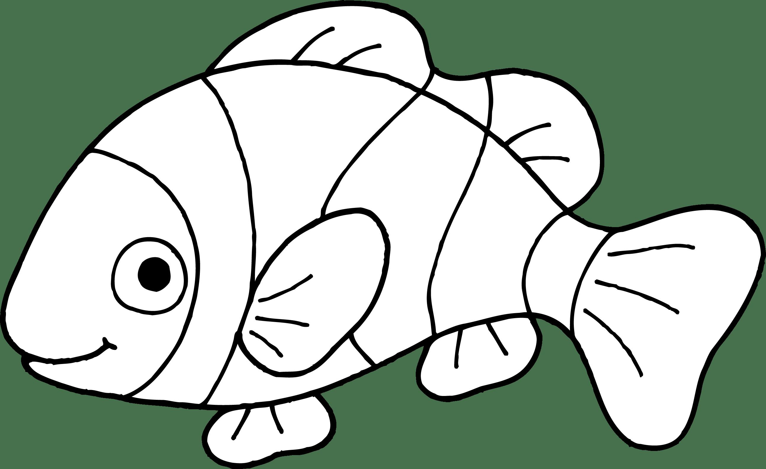 Clown Fish Clipart Clipart Panda