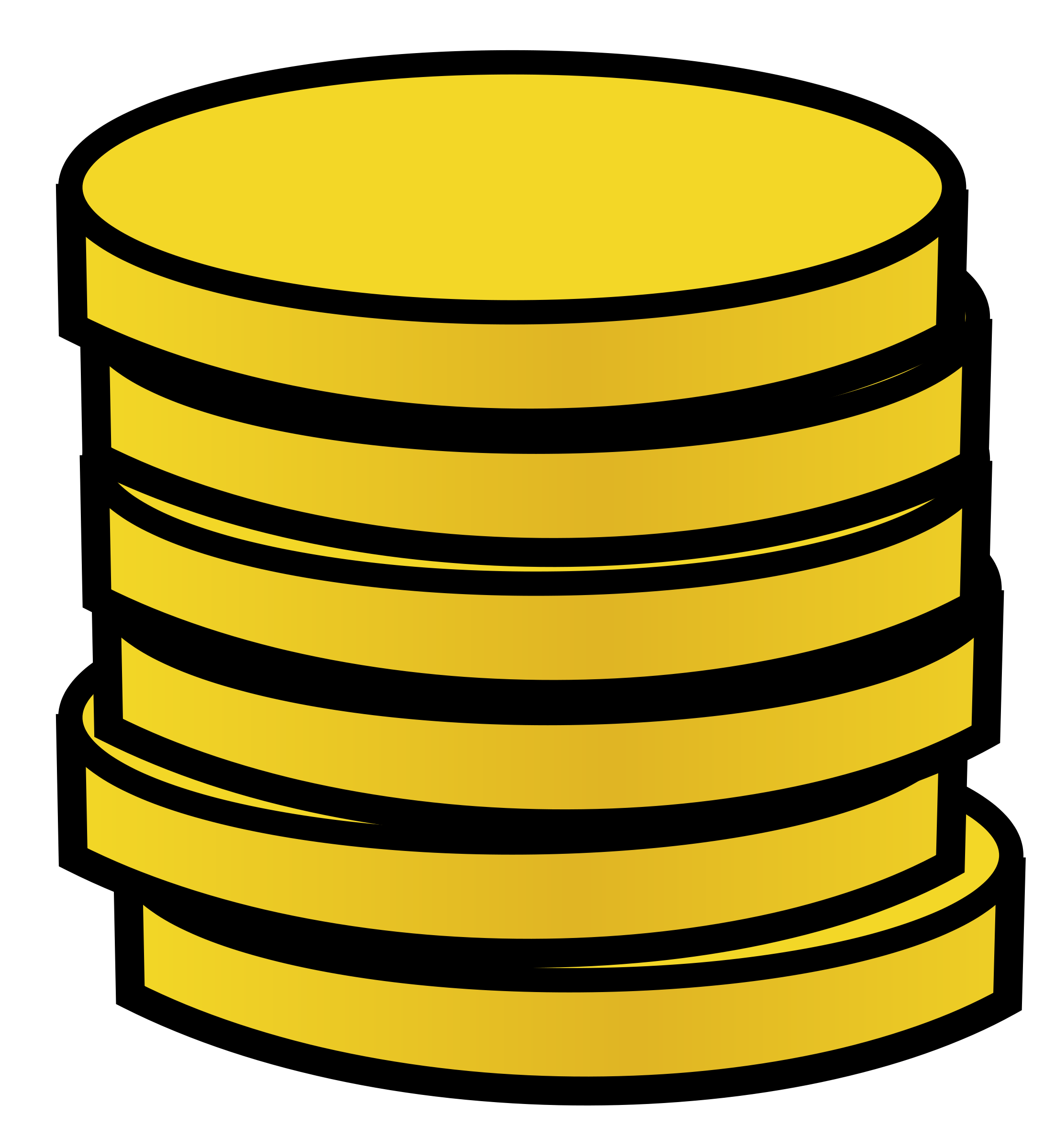 Gold coin Clipart   Clipart Panda - Free Clipart Images (2182 x 2400 Pixel)