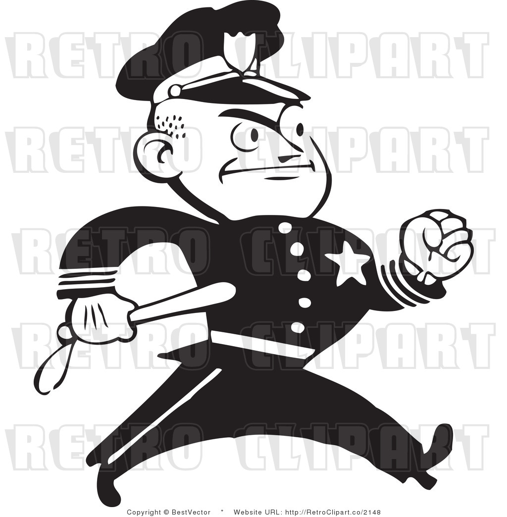 Best Retro Man Black And White Clipart - Best Free Clipart ... (1024 x 1044 Pixel)
