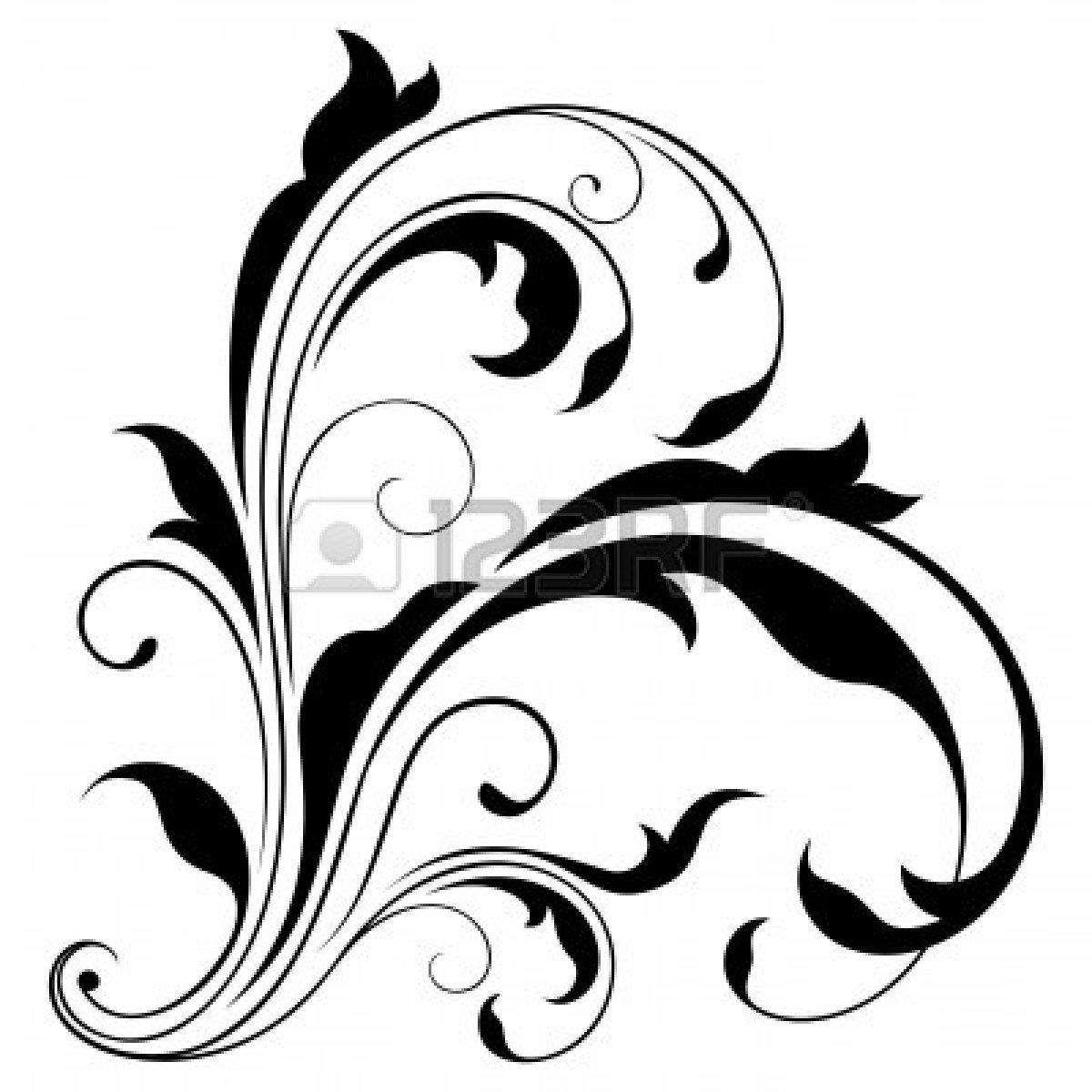Corner Swirls Design Clipart Panda