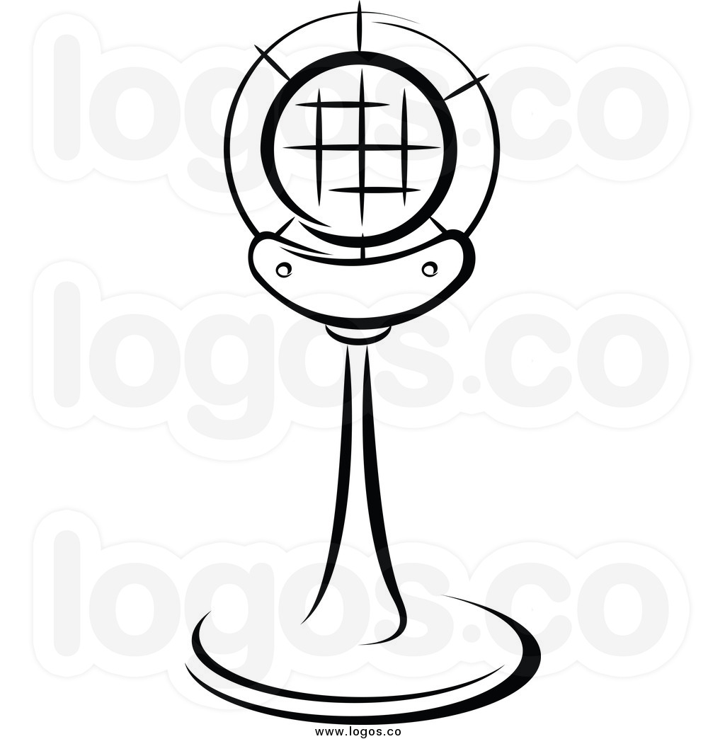 Microphone Clipart Black And White Clipart Panda