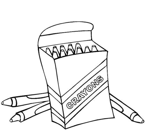 crayon box coloring page clipart panda free clipart images