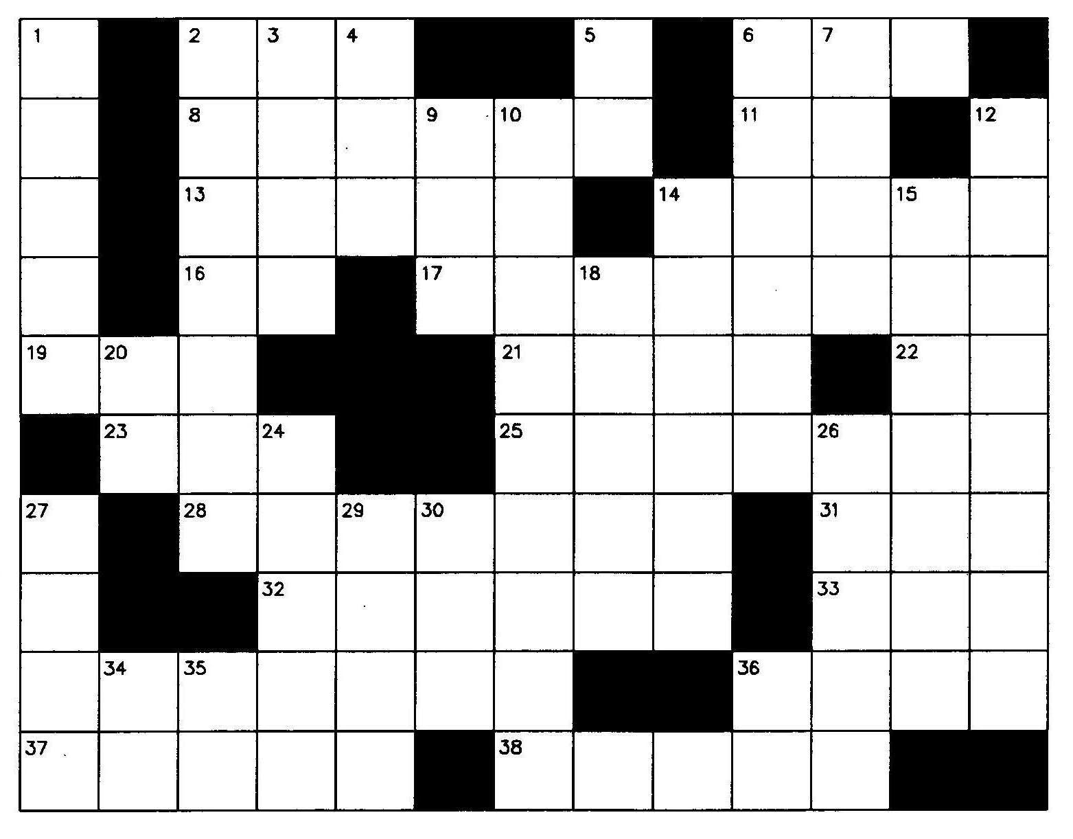 Crossword 20clipart Clipart Panda