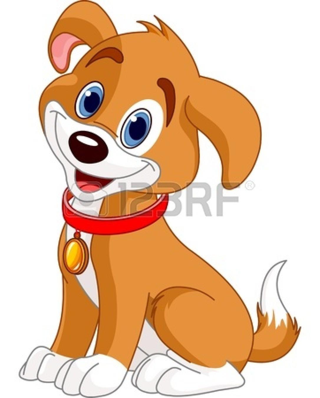 Cute Dog Face Clipart