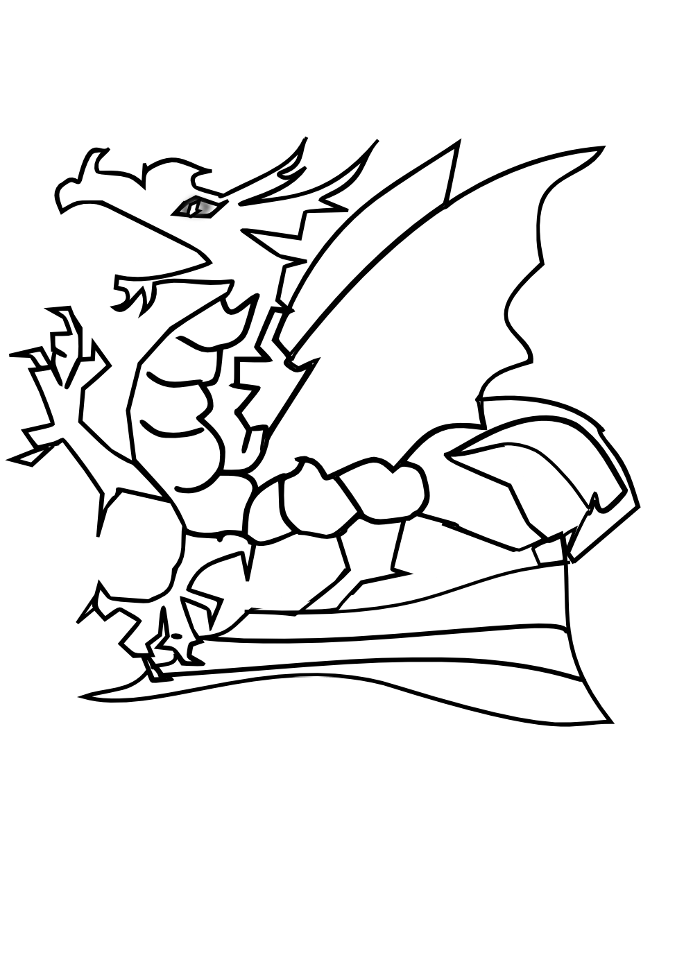 Coloring Pages Here Reliable Dragon Breathing For Kids Png