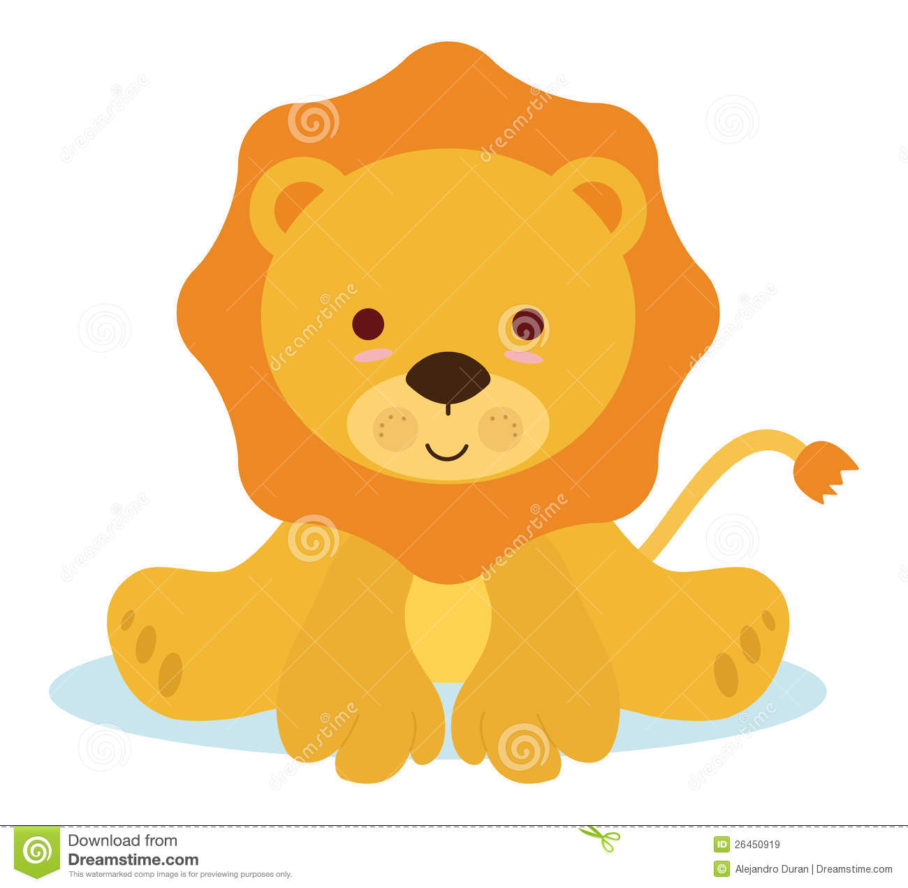 Baby Lion Tiger Bear Clip Art Cliparts