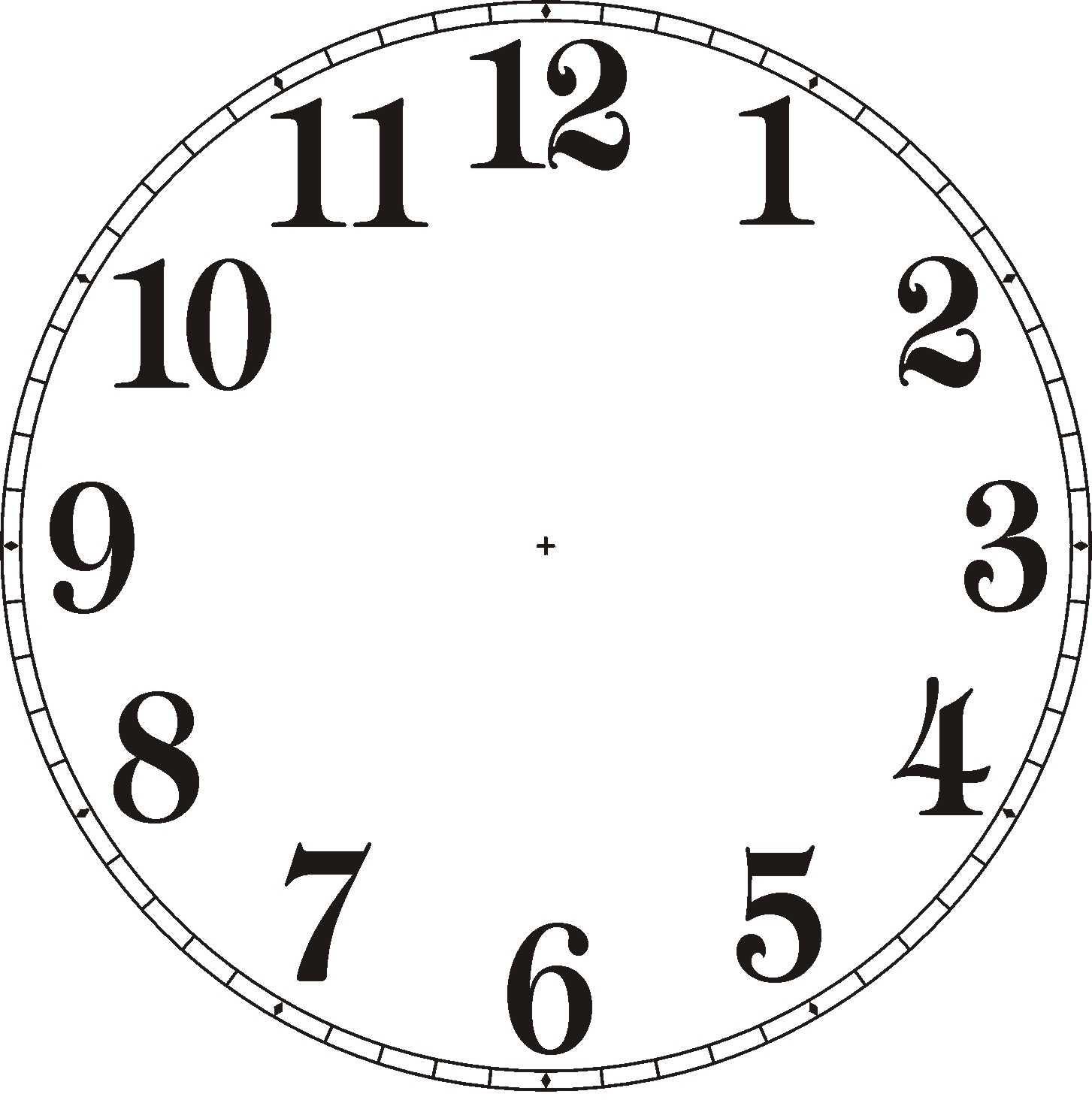 Blank Digital Clock Clipart Clipart Panda