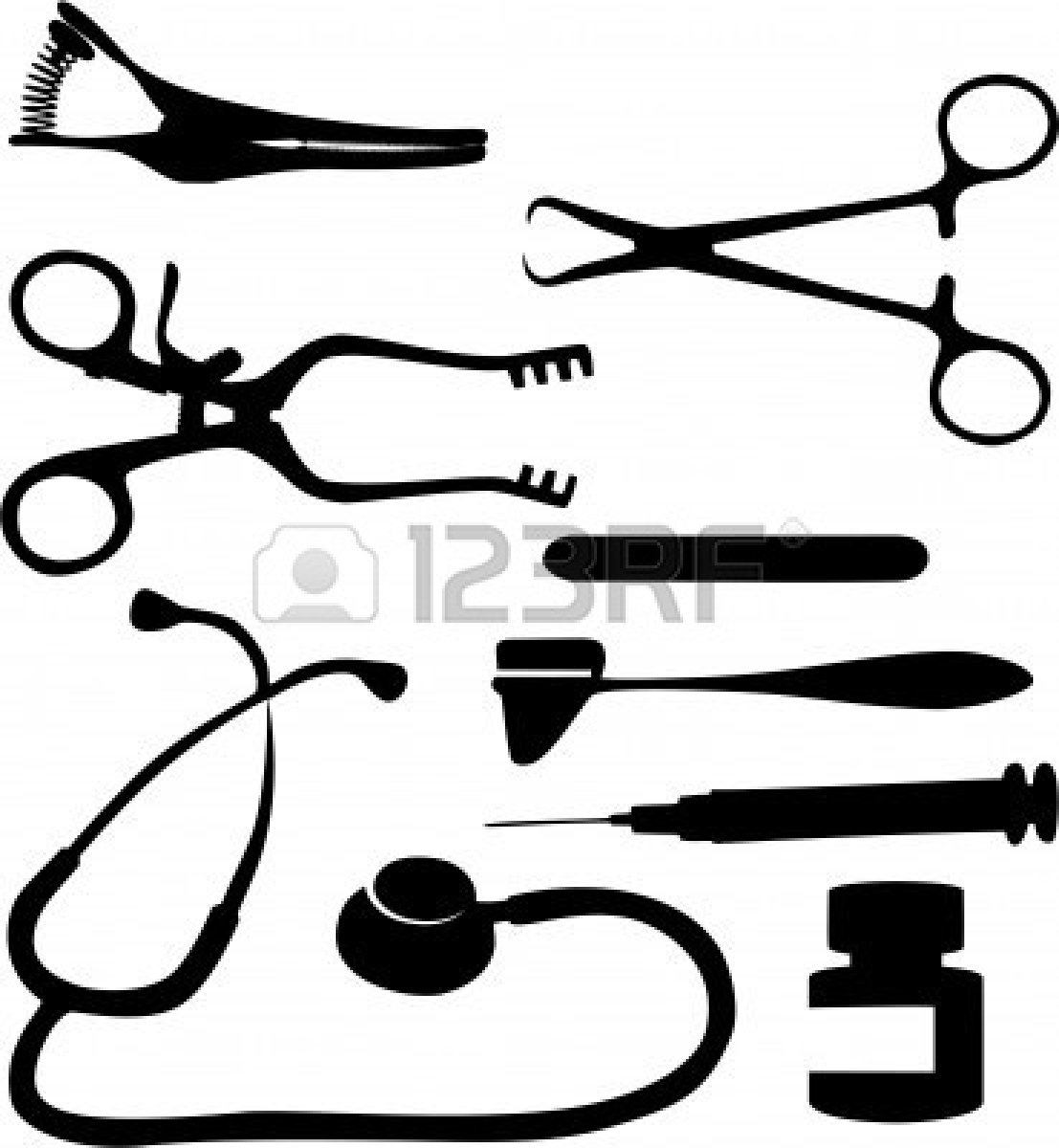Medical Tools Clip Art Clipart Panda