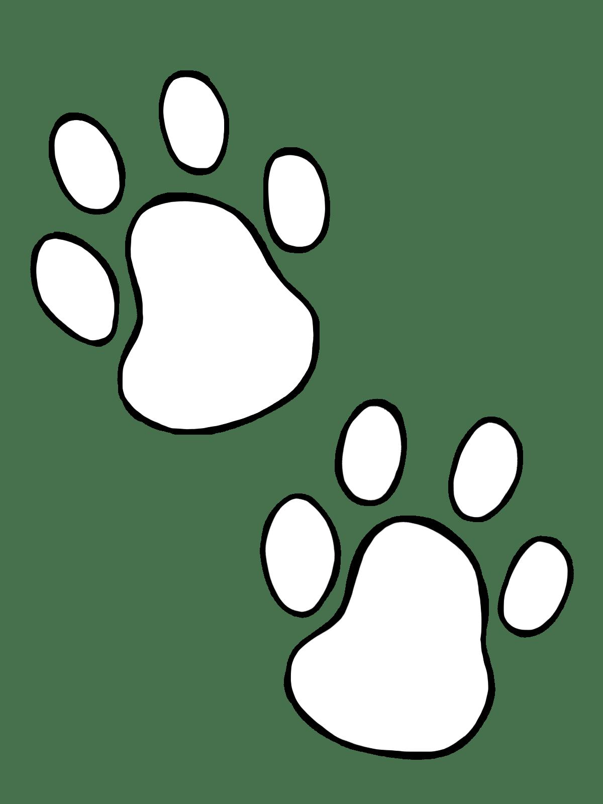 Dog Paw Clip Art Clipart Panda