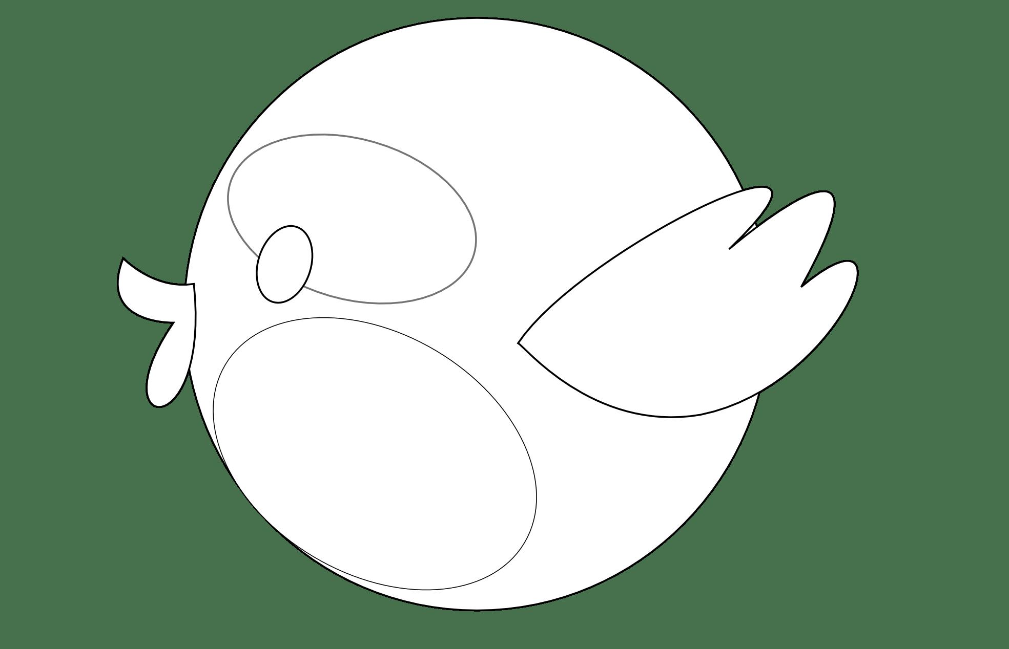 Bird Clipart Black And White Clipart Panda