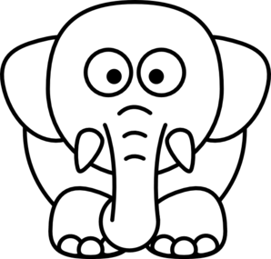 elephant coloring pages cartoon elephant coloring pages png
