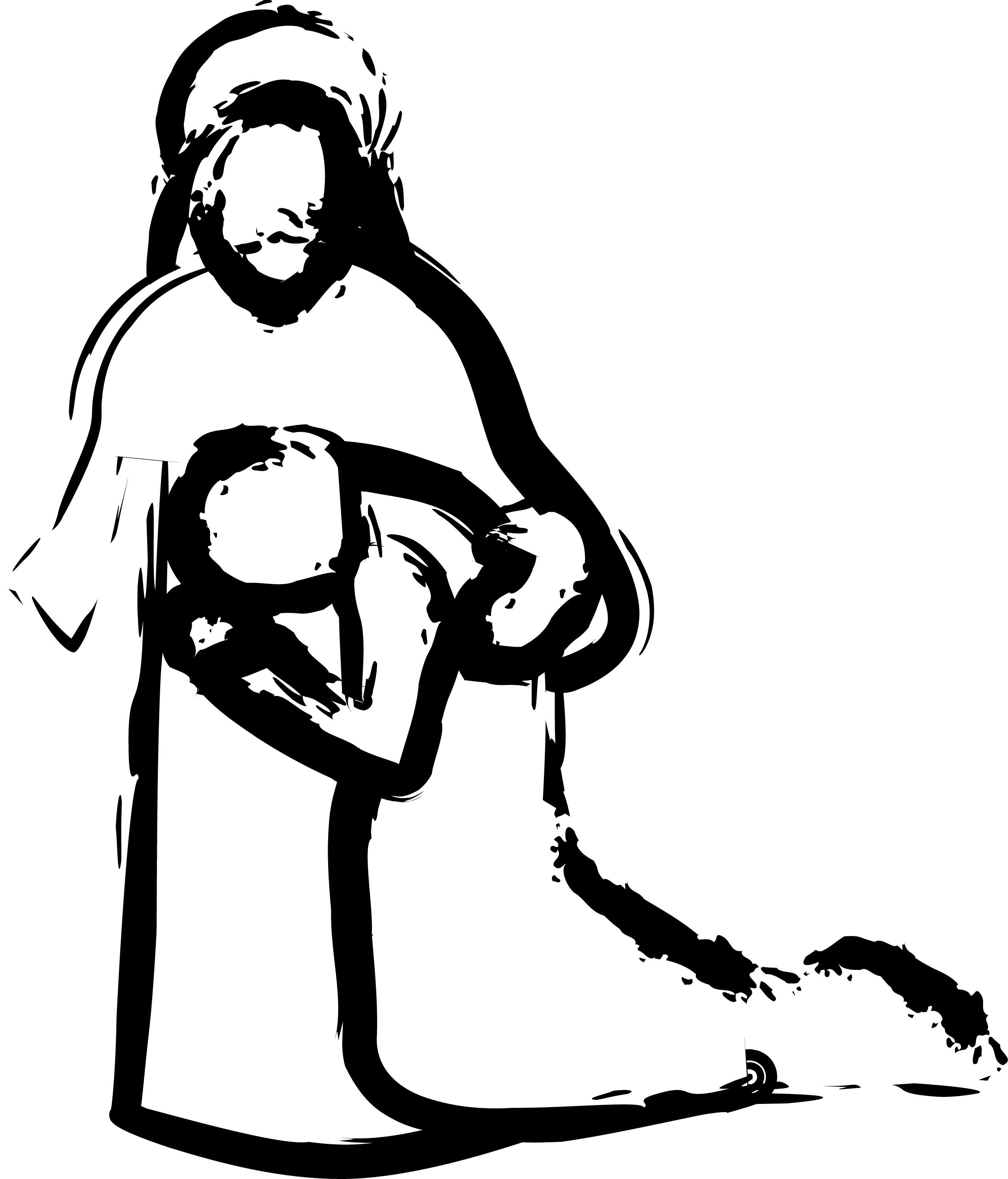 Image result for Jesus Healing Clip Art