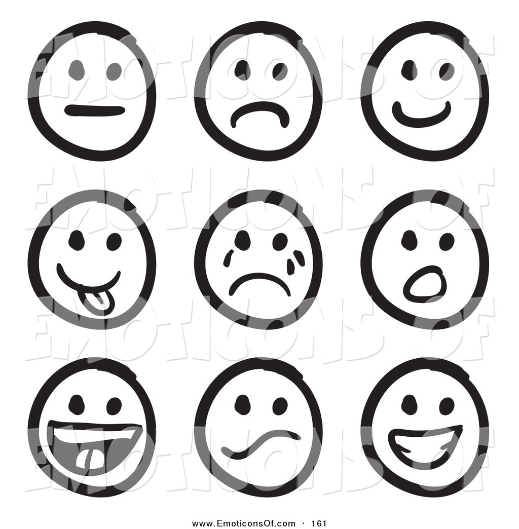 Smiley Face Clipart Black And White Clipart Panda