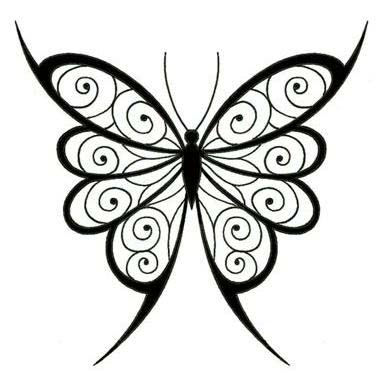 Butterfly Wings Template. then i cut out the and the body which ...