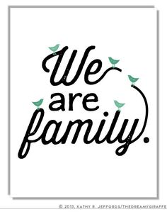 Image result for we are family