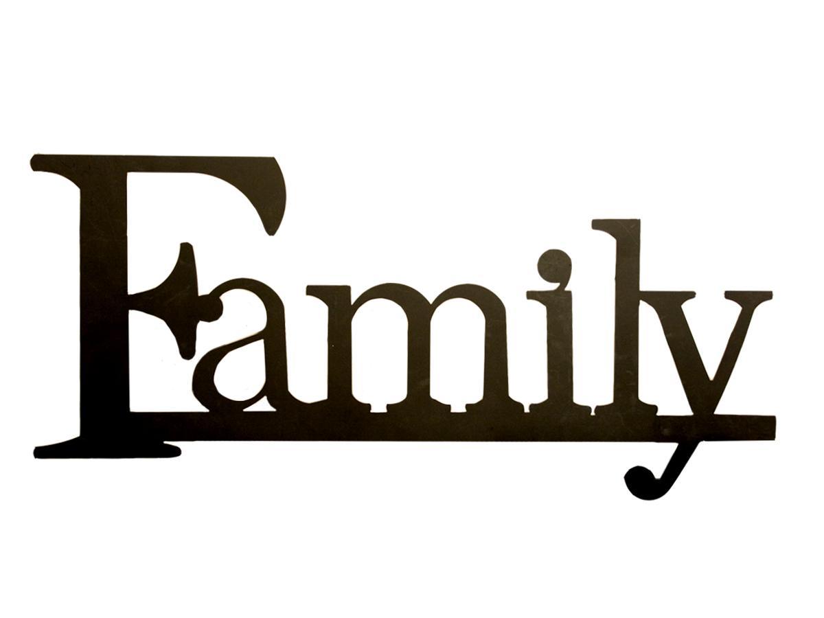 Family Word Clipart Clipart Panda