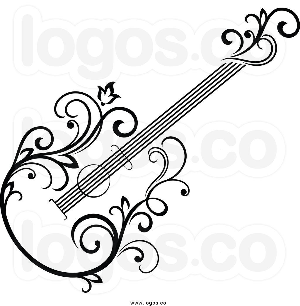 Violin Clipart Black And White Clipart Panda