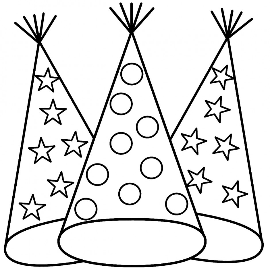 fireman hat coloring page coloring pages