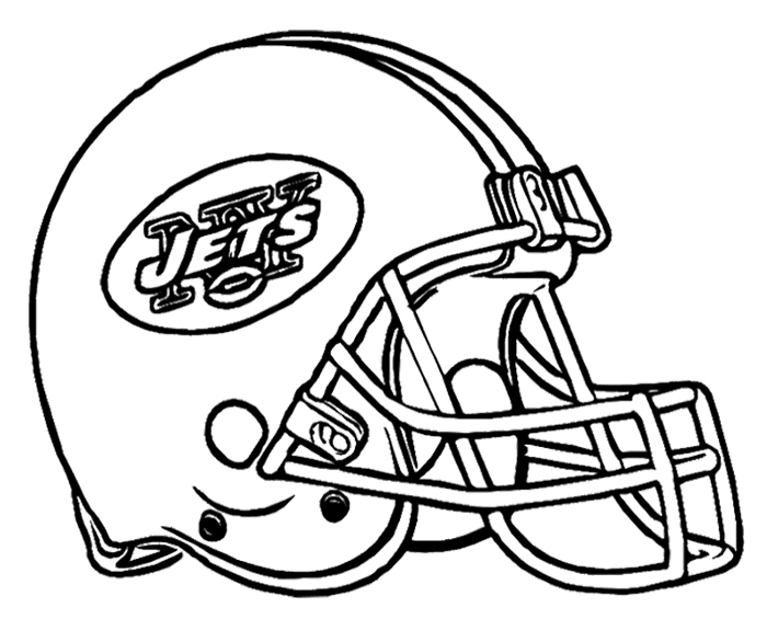 helmet drawing football helmet new york jets