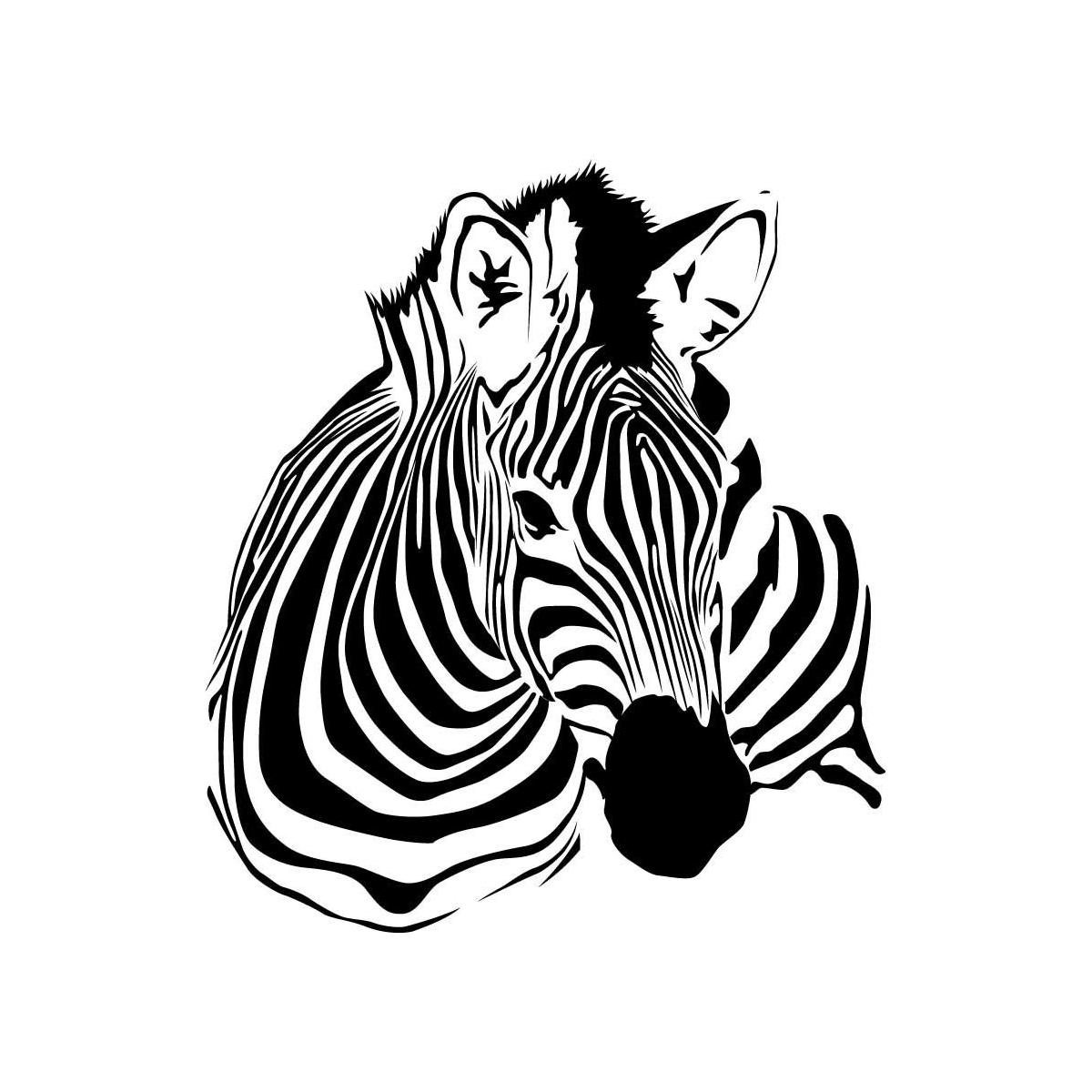 Zebra Silhouette Clip Art