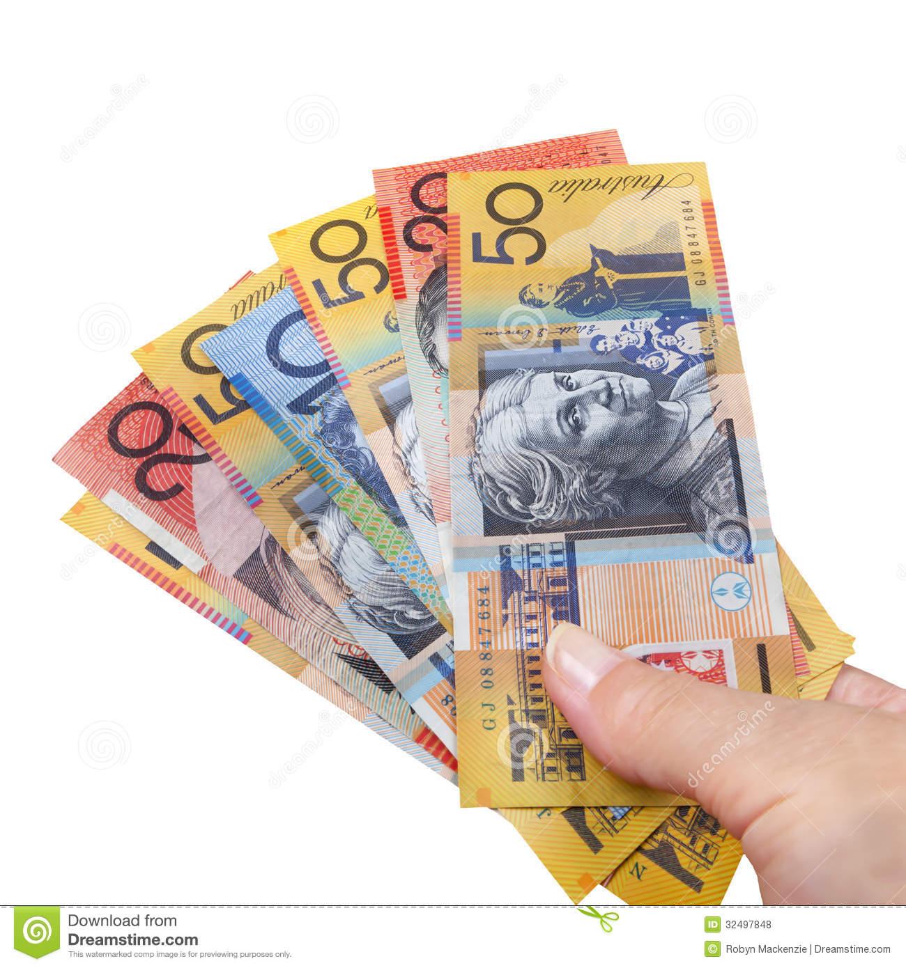 Australian Money Clipart
