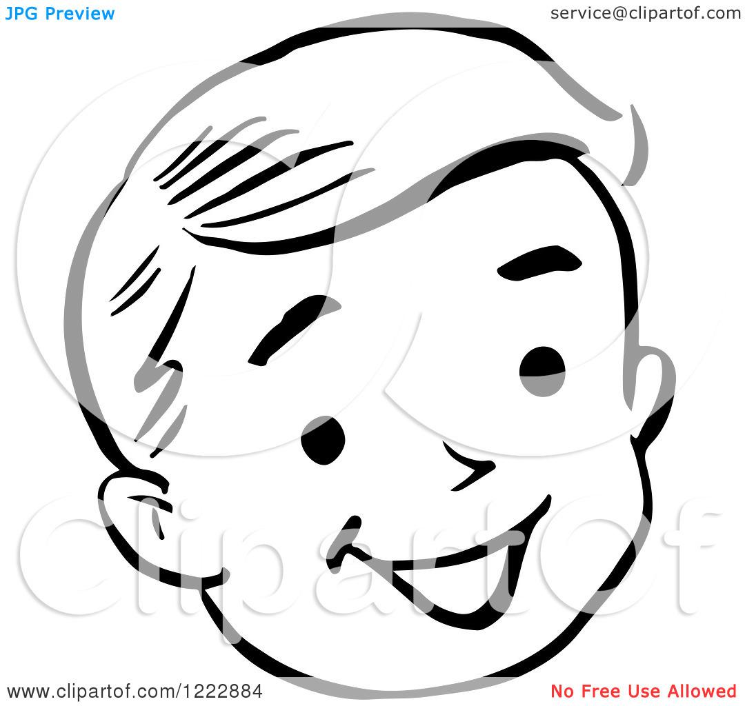 Happy Girl Face Clipart Clipart Panda