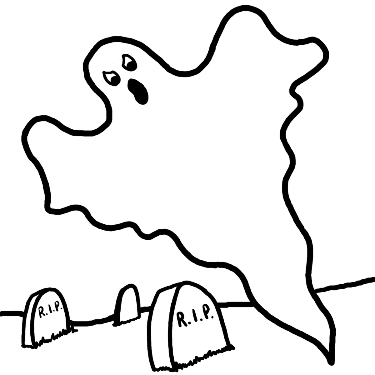 haunted house page ghost printable jpg