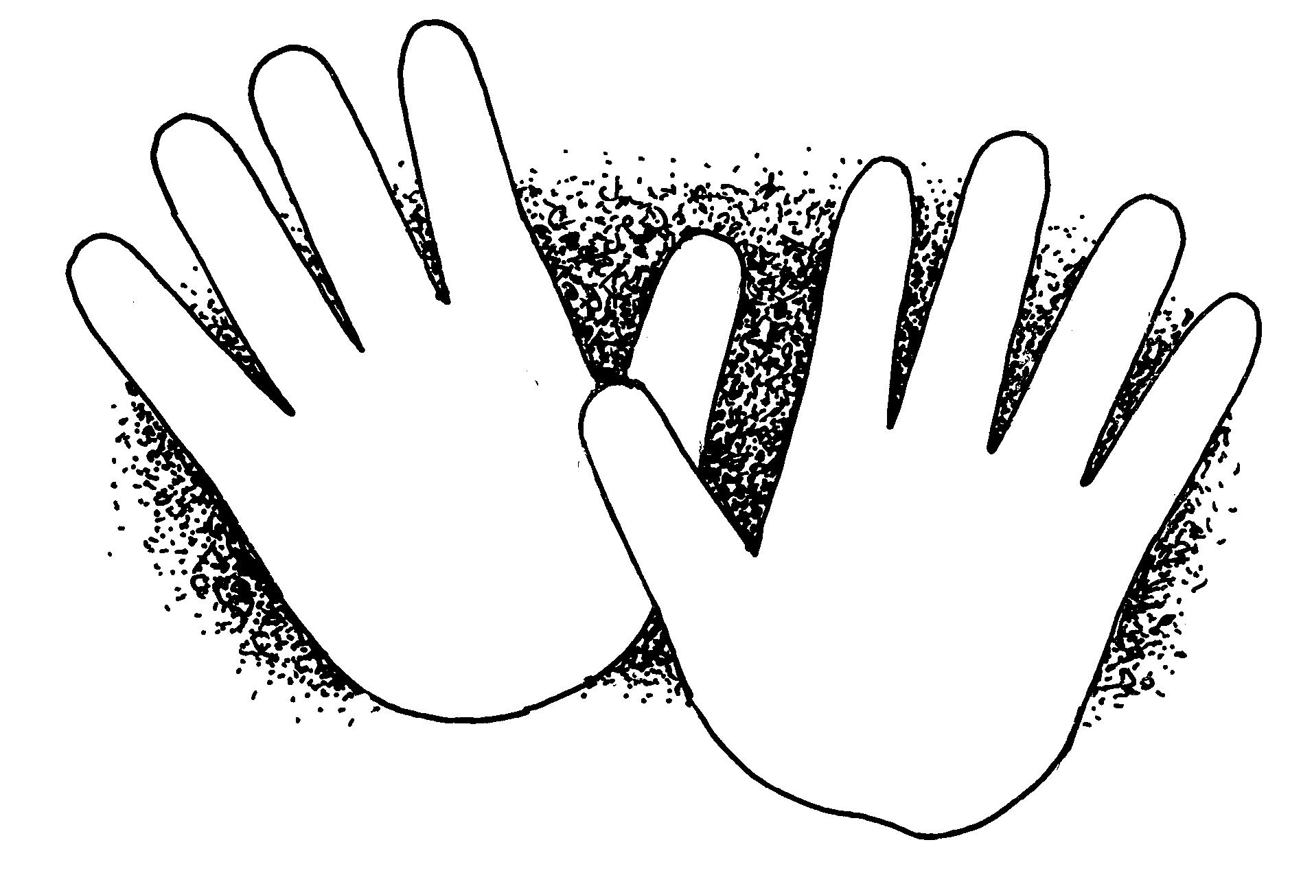 Kid Hand Clip Art Clipart Panda