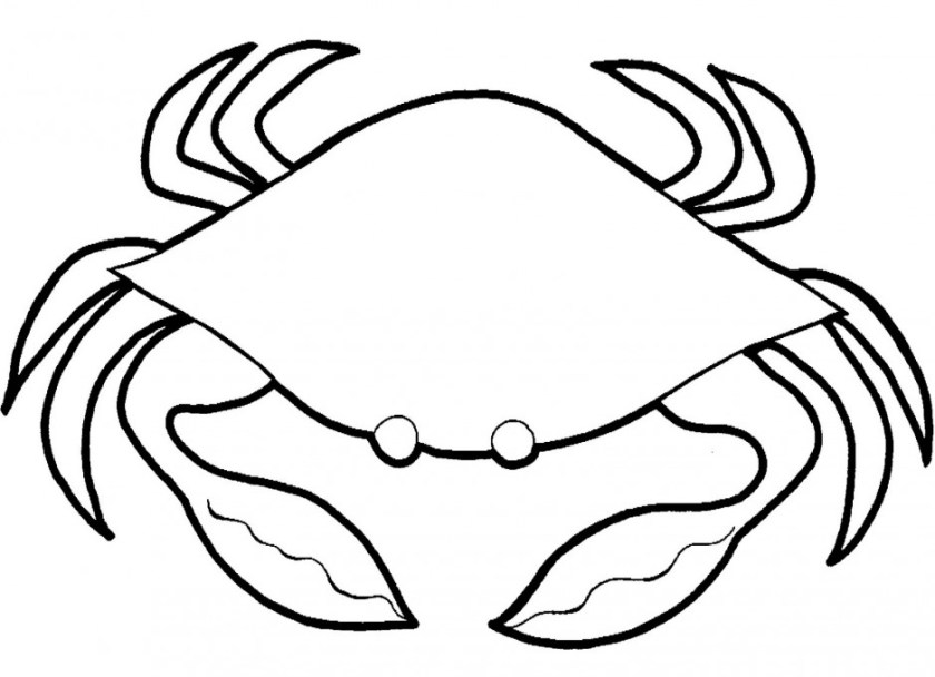 crab clip art black and white  clipart panda  free