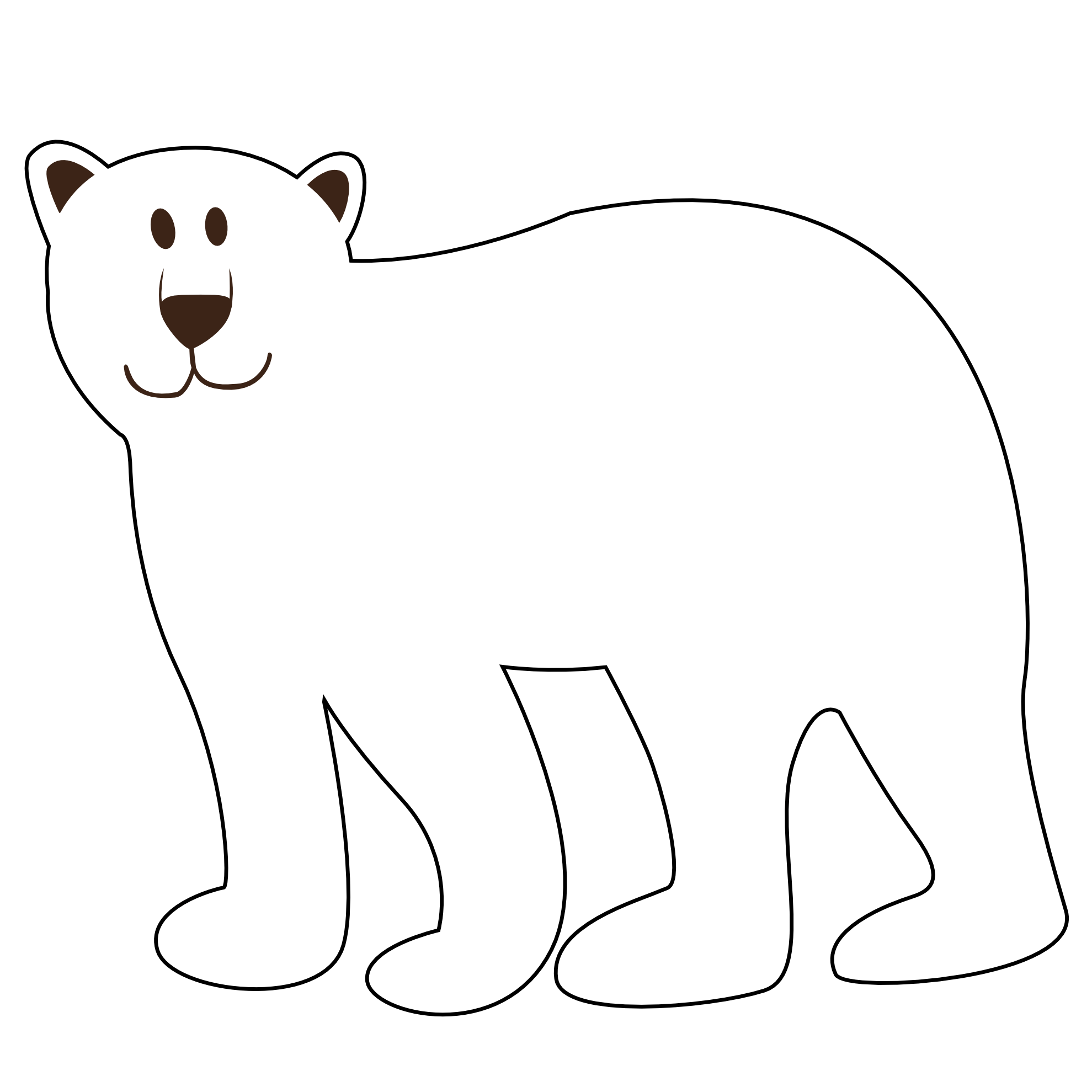 Holiday Polar Bear Clip Art Clipart Panda