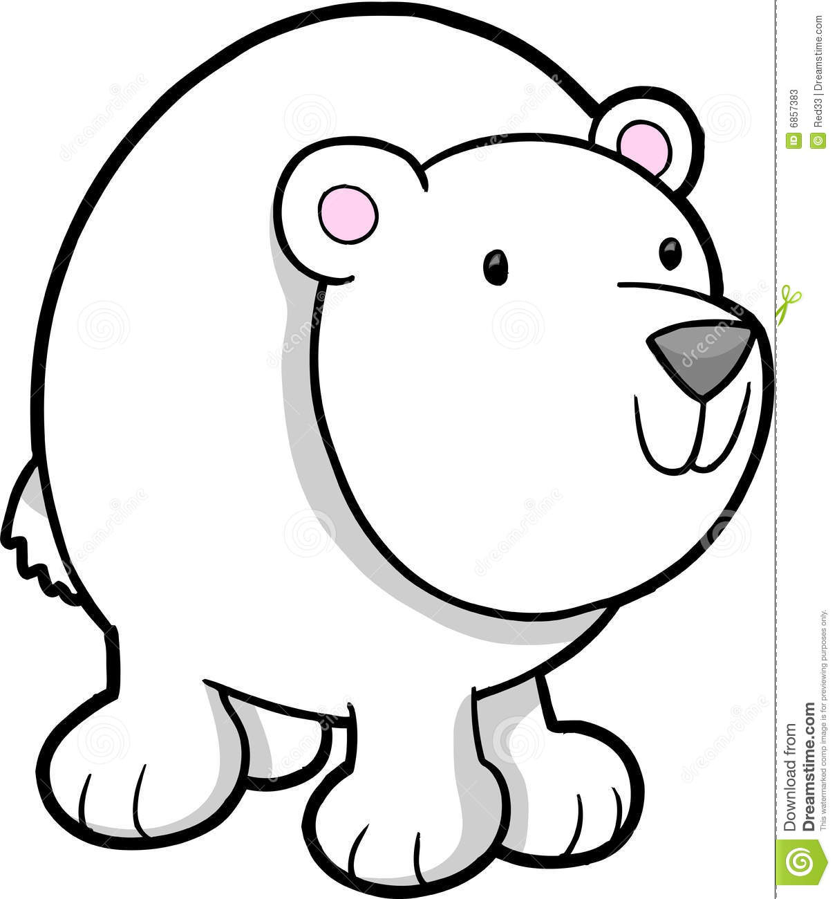 Holiday Polar Bear Clip Art Clipart Panda