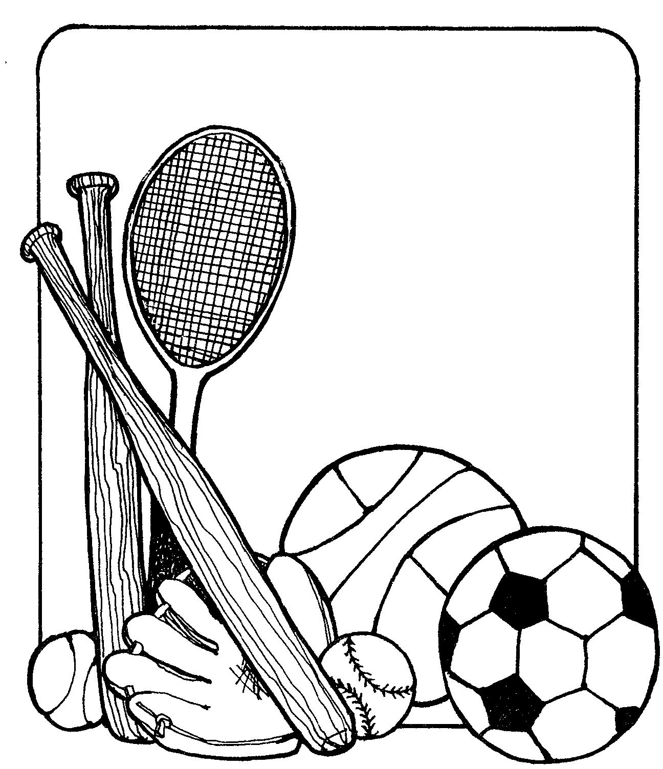 Sports Equipment Clipart Clipart Panda