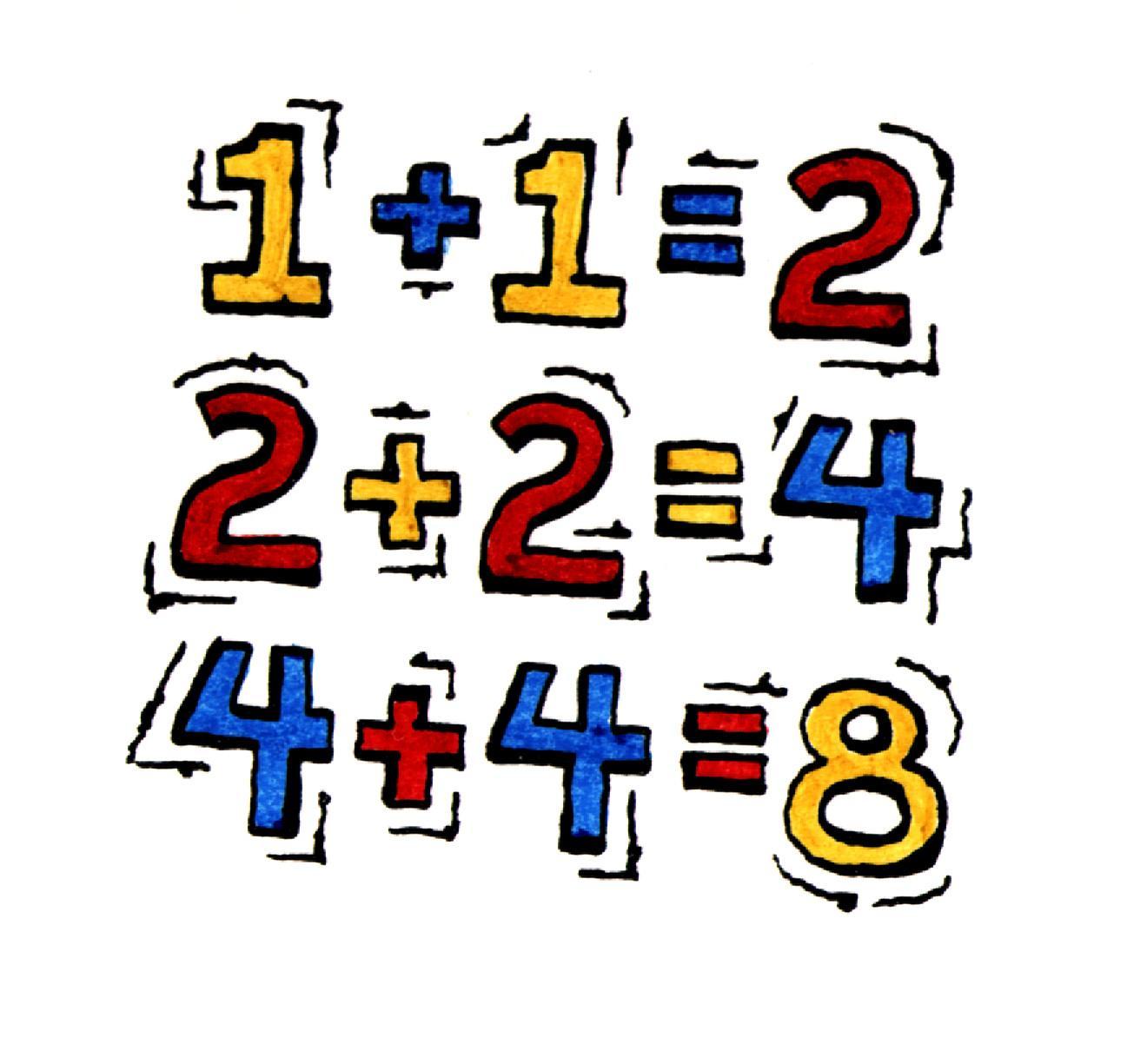 Kindergarten Math Addition Clipart Panda