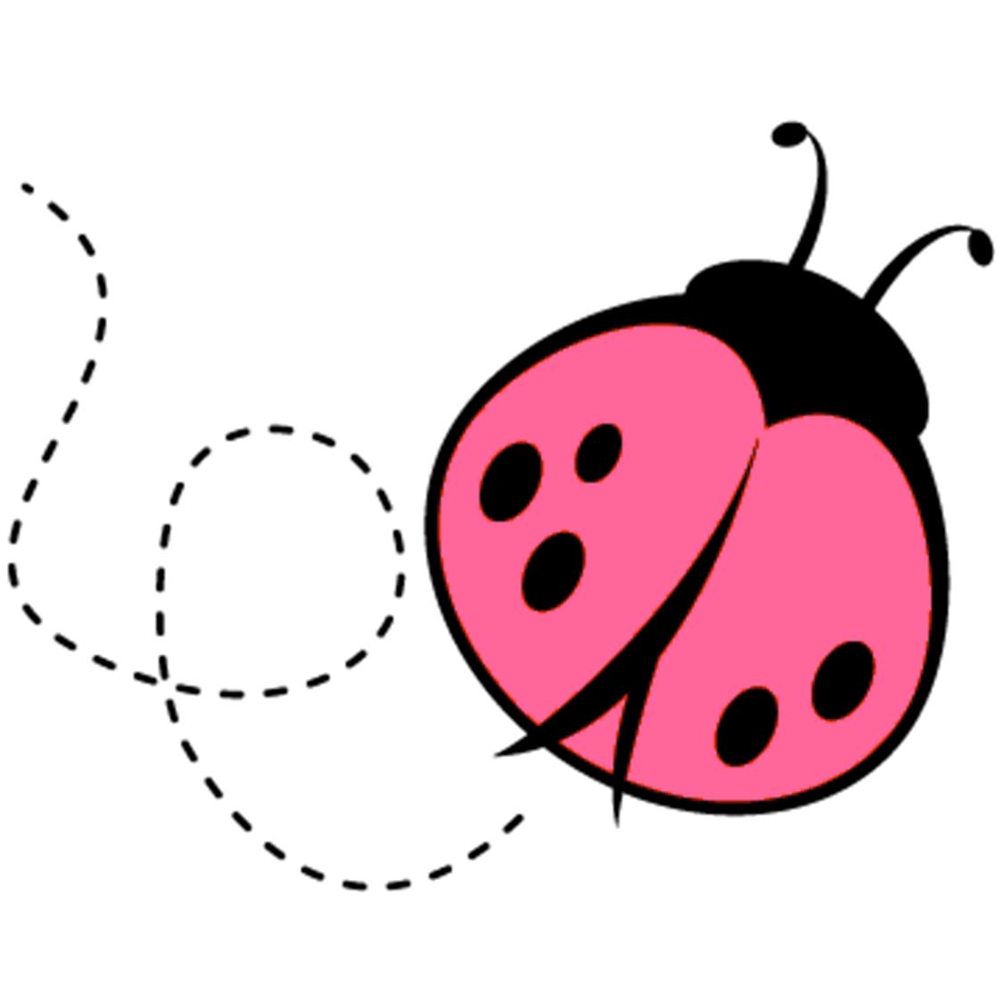 Pink Lady Bug Clipart Panda