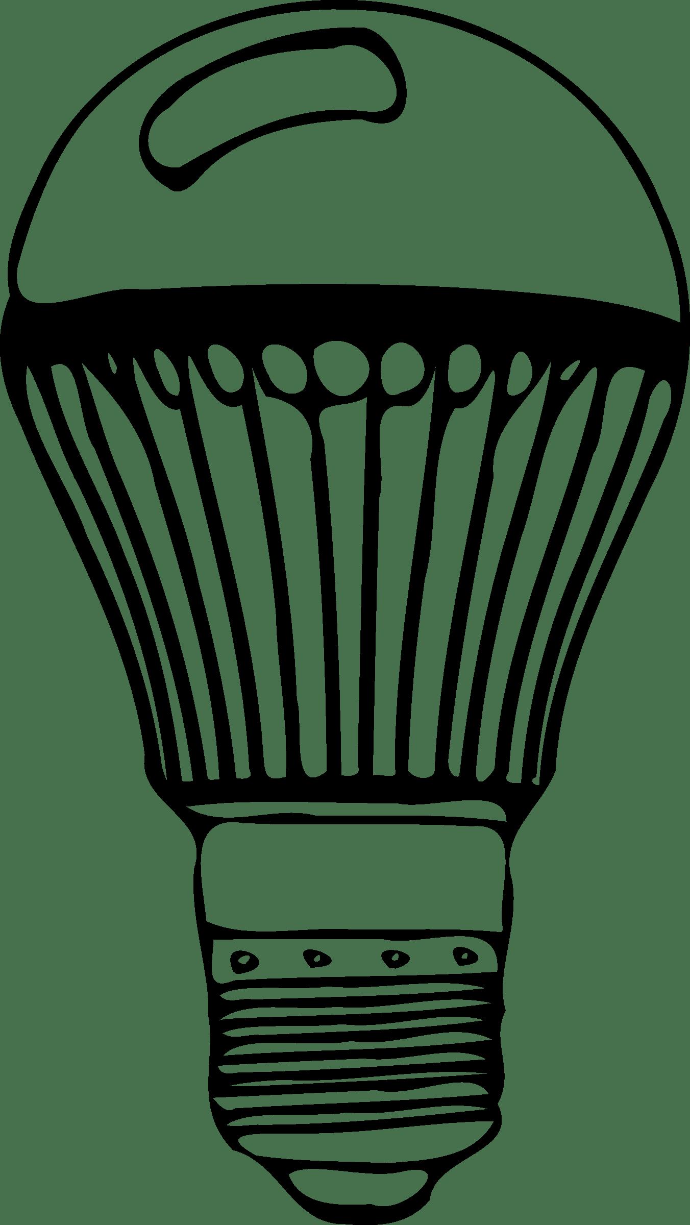 Led Light Bulb Clip Art Clipart Panda