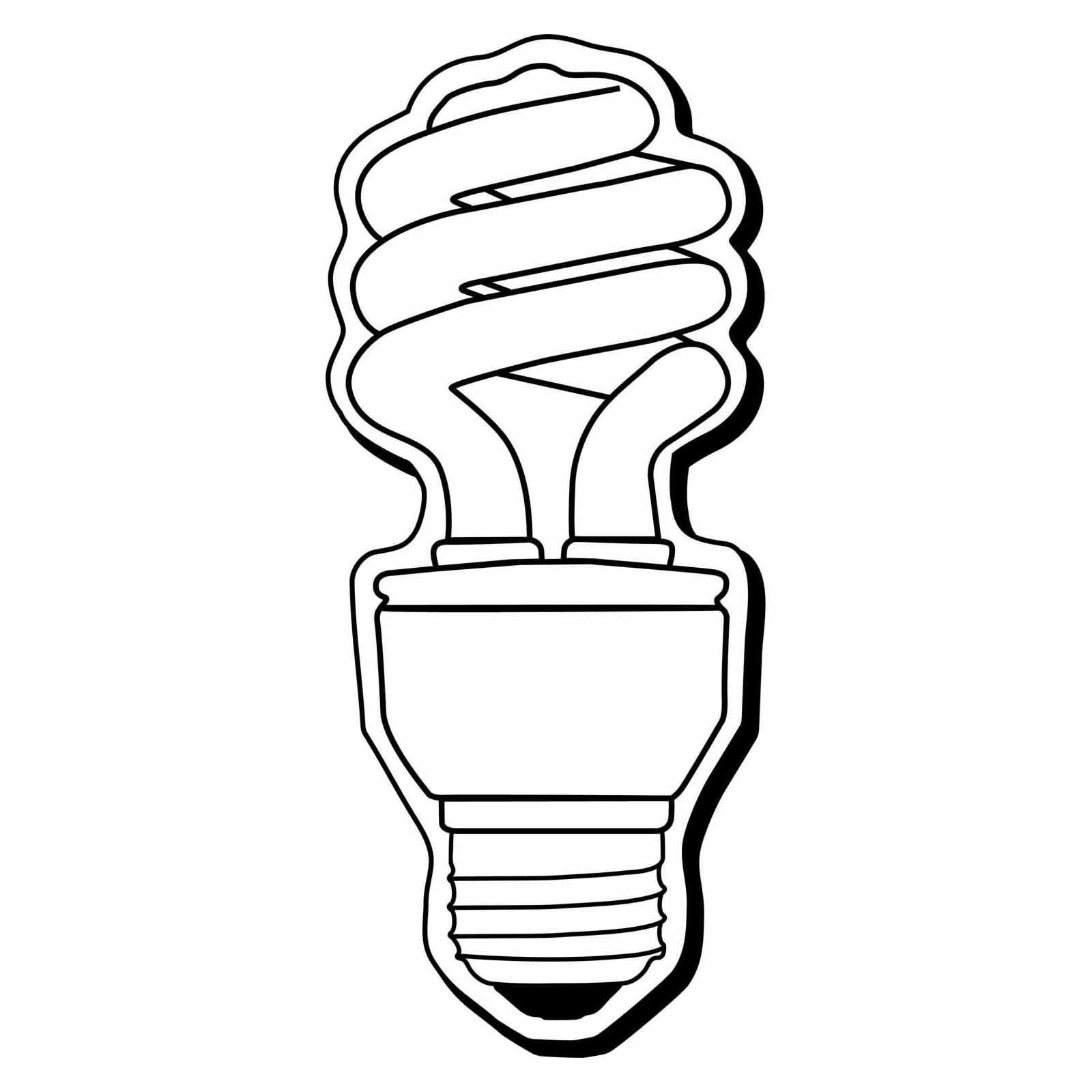 1 7 16 X3 1 2 Light Bulb Clipart Panda