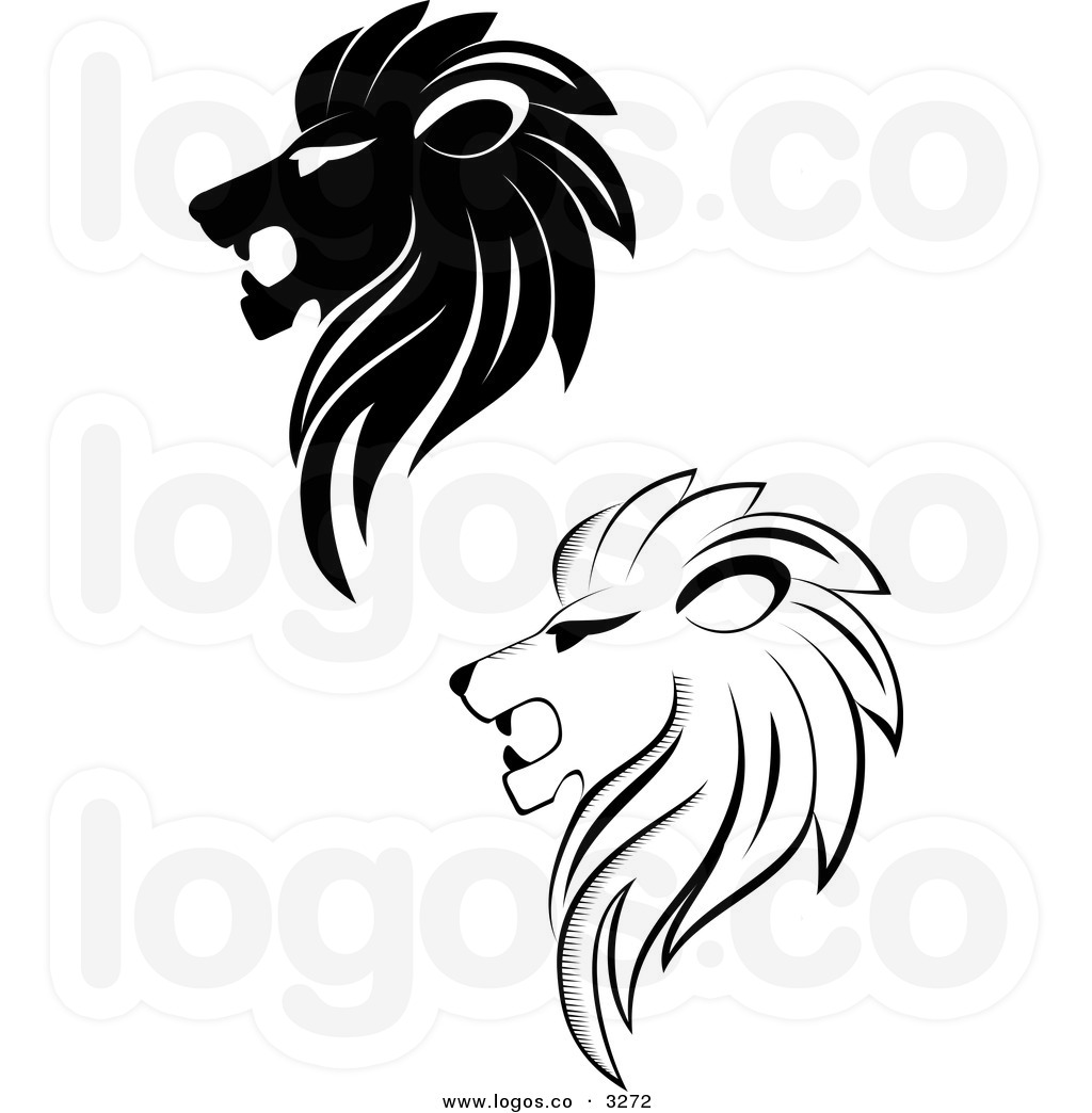 Roaring Lion Black And White Clipart Panda