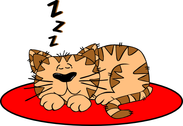 Cat On The Mat Clipart