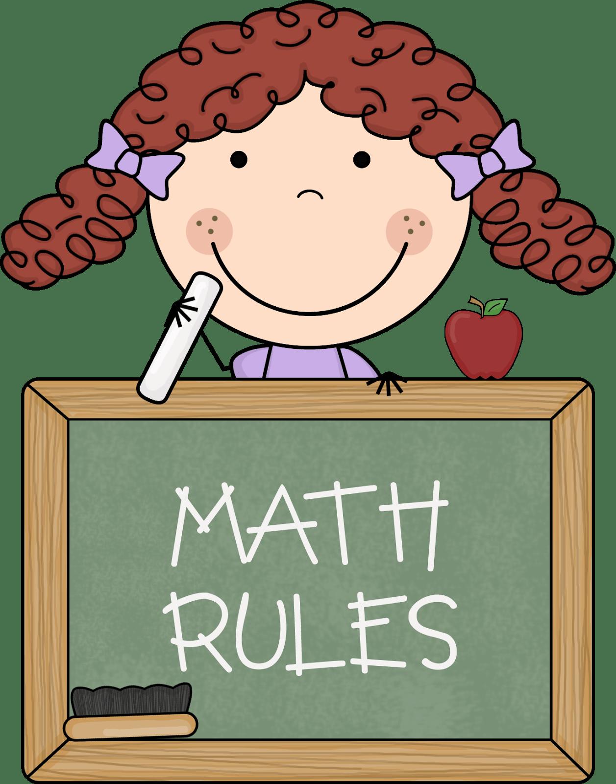 Math Subject Clipart