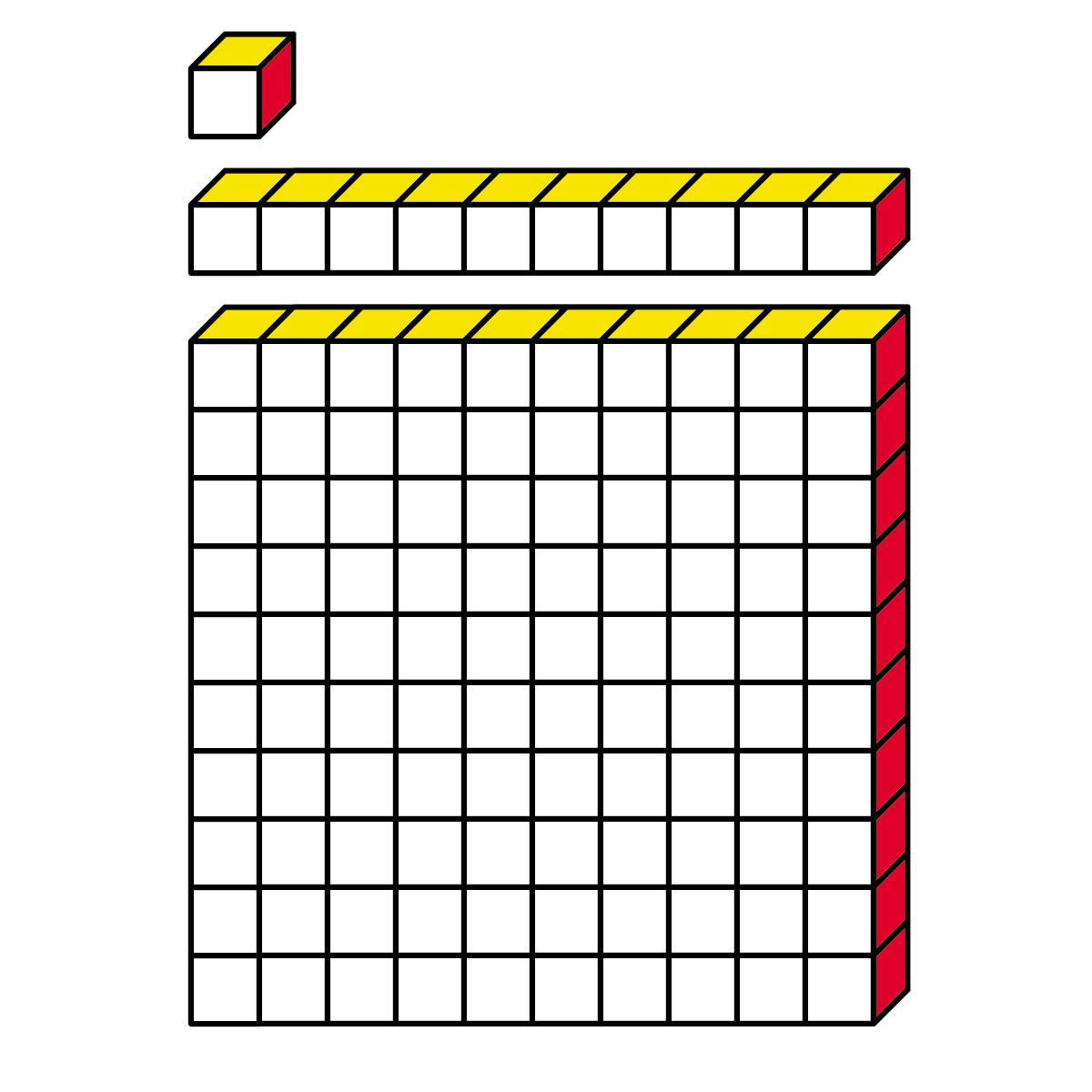 Base Ten Blocks Clip Art Clipart Panda