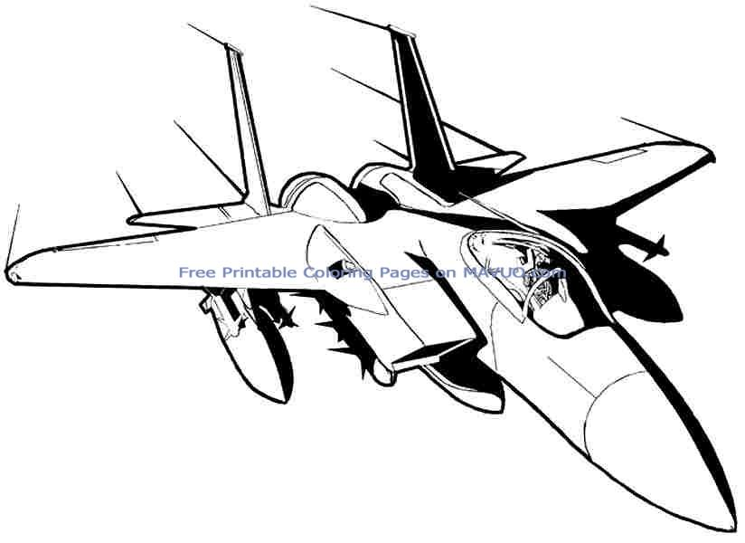 airplane coloring pages transportation military plane coloring pages