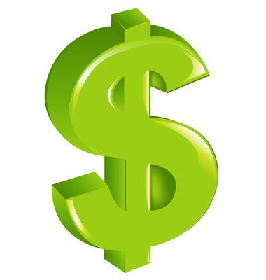 علامة الدولار | dollar sign vector