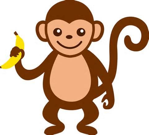 Happy Monkey Clipart