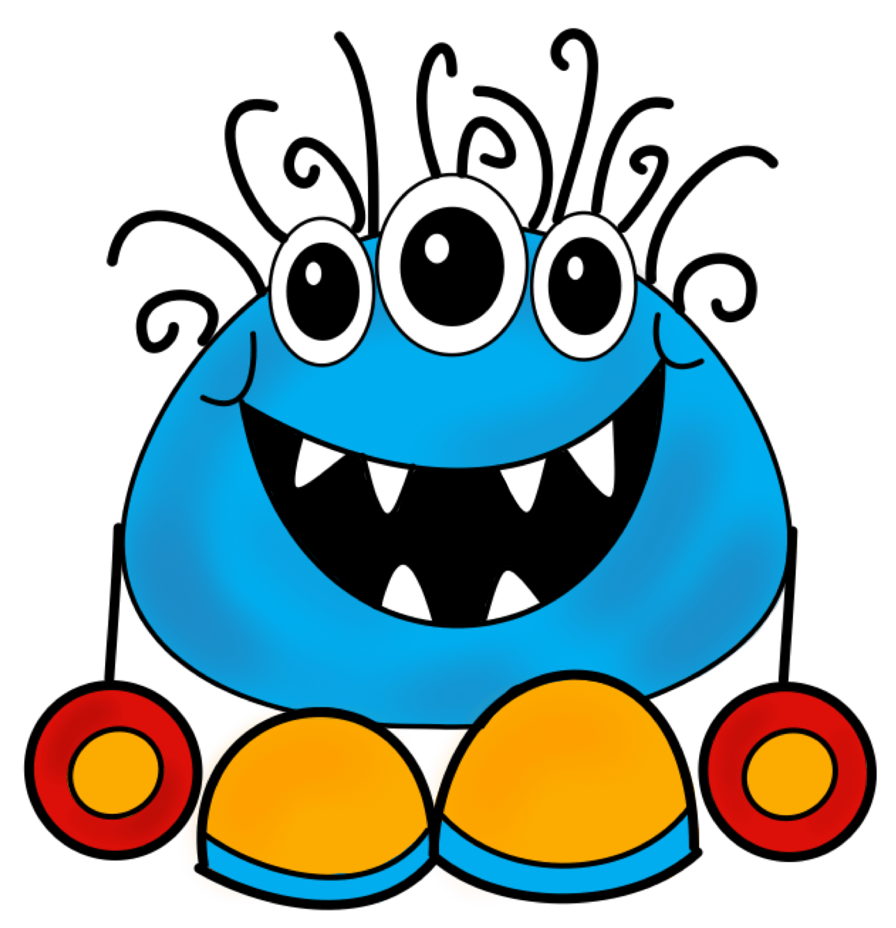 Image result for Monsters Clip Art