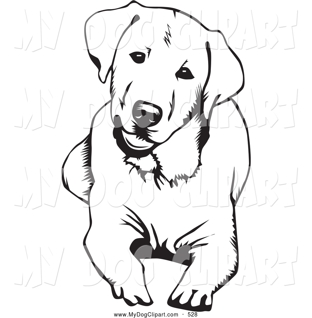 Dog And Cat Clip Art Black And White
