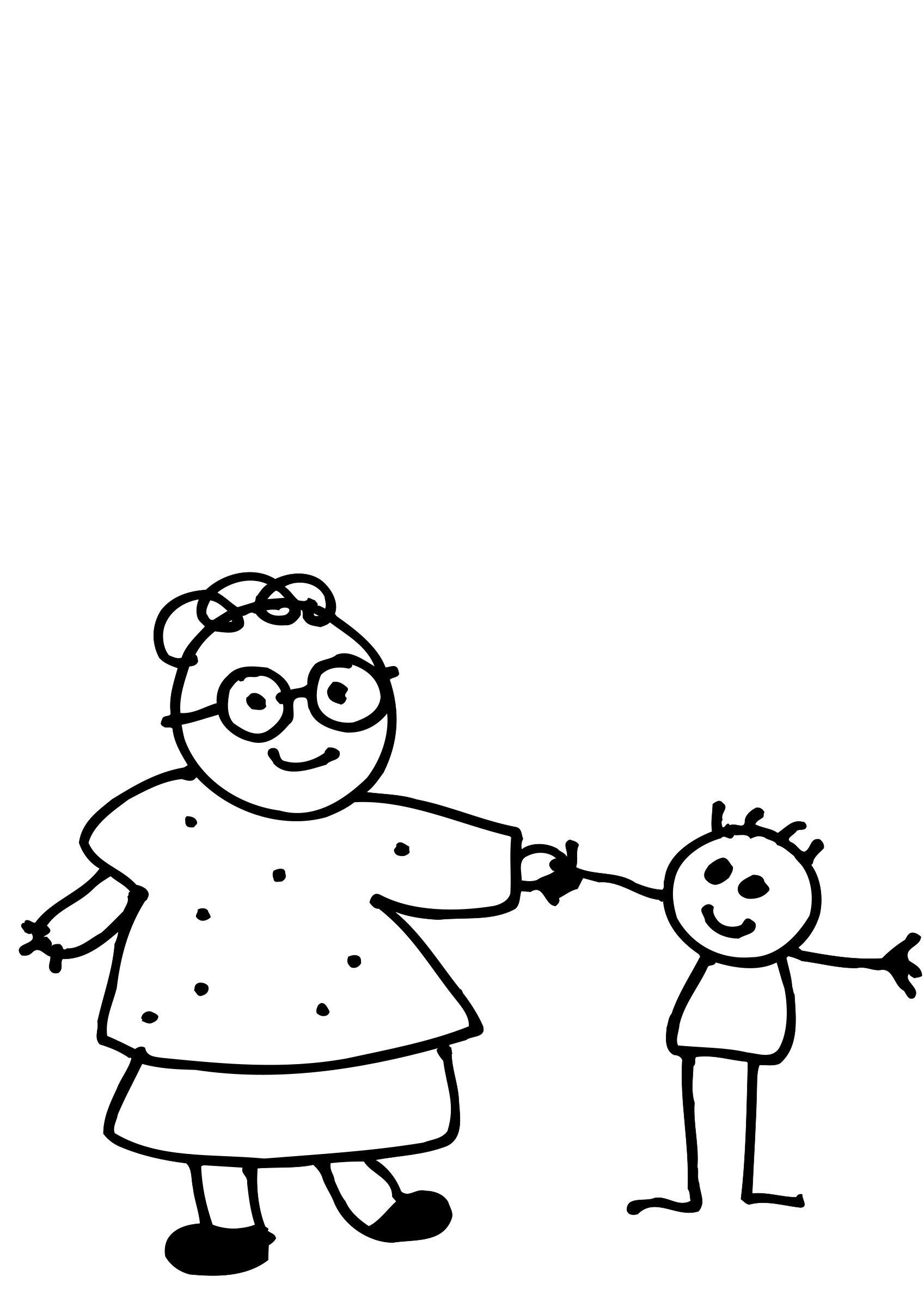 Mother And Baby Line Drawing Clipart Panda