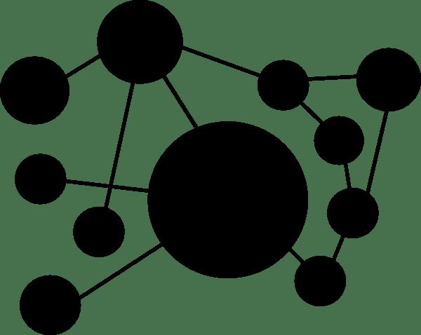 Computer Network Clipart