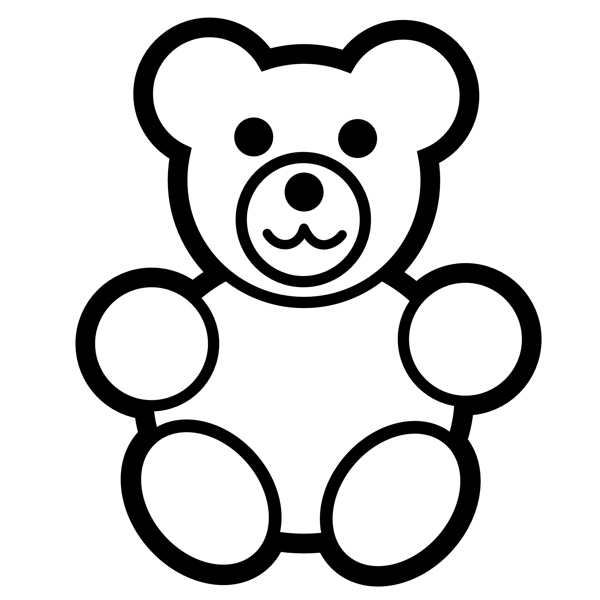 Numbers Clipart For Kids Black And White