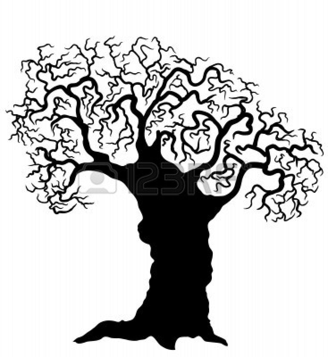 Clip Art Pine Trees Black And White Clipart Panda